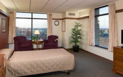 Spacious Resident Rooms